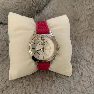 Pink Coach Watch